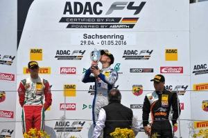 Mike David Ortmann (GER), kfzteile24 Muecke Motorsport, ADAC Formel 4, Sachsenring, 01.05.2016